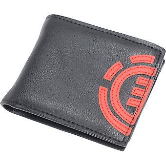 Element portemonnee met CC, notitie en munt zakken ~ dagelijks origineel zwart