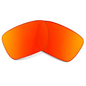 Replacement Lenses Compatible with OAKLEY Fuel Cell Non-Polarized Red Mirror