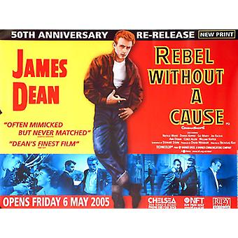 Rebel Without A Cause (Re-Release) Original Cinema Poster