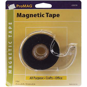 Adhesive Tape Magnetic Strip with Dispenser .75