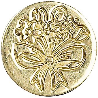 Decorative Seal Coin Spring Flowers 727Spf