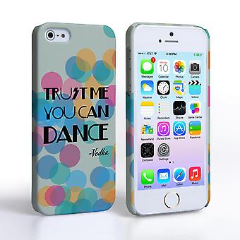 Caseflex iPhone SE Vodka Dance Quote Hard Case – Green