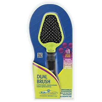 Furminator Double Brush Steel / nylon (Dogs , Grooming & Wellbeing , Brushes & Combs)