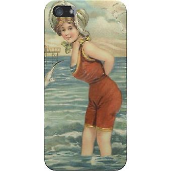Vrouwen op het strand cover voor iPhone 4/4