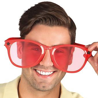 Party Brille Jumbo rot
