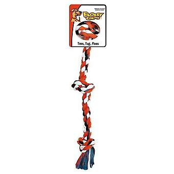 Flossy Chews 3 Knot Tugs XLge 91cm