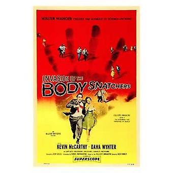Invasion av Body Snatchers filmaffisch (11 x 17)
