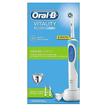 Braun D12 Vitality Toothbrush Cross Action Plus (Woman , Esthetics , Dental beauty )