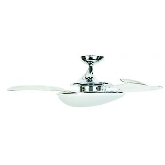 Ceiling Fan Fanaway Evo3 Asymmetric Chrome 122 cm / 48