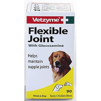 Vetzyme Dog Flexible Joint With Glucosamine 90 Tablets