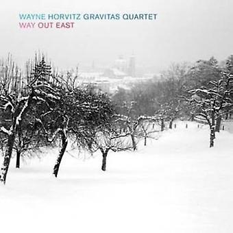 Horvitz, Wayne Gravitas Quartet - vej ud East [SACD] USA import