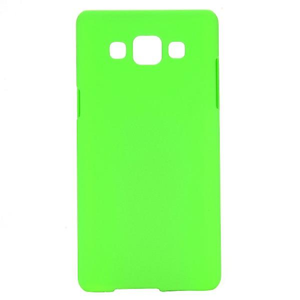 Hardcase green rubber sleeve for Samsung Galaxy A5 A500 A500F