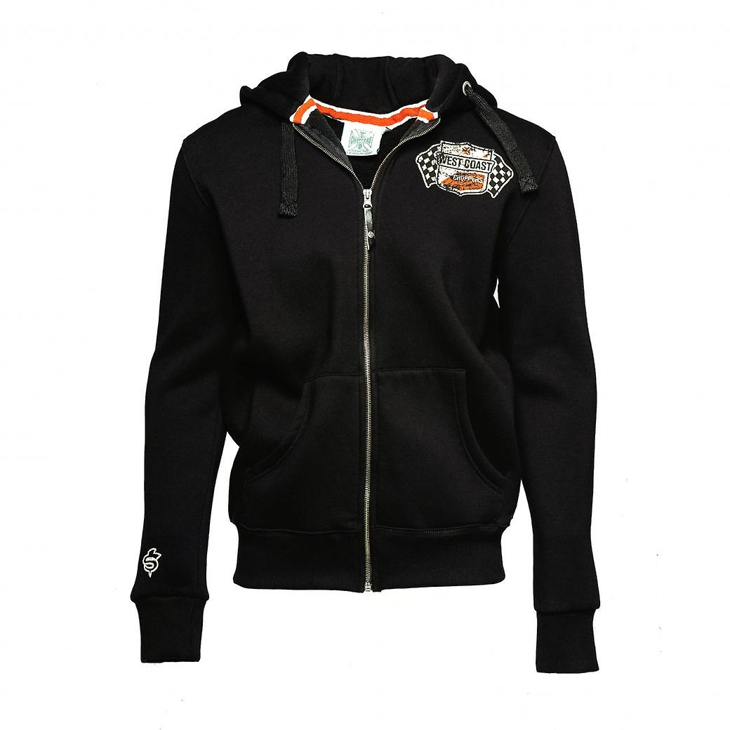 West Coast Choppers Zip Hoody Cheating Death
