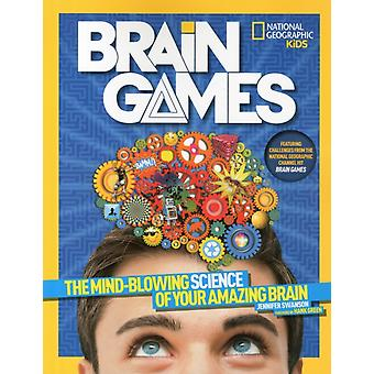 Brain Games (National Geographic Kids) (Paperback) by Swanson Jennifer Green Hank