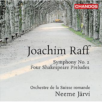 Joachim Raff - Joachim Raff: Symfonie nr. 2; Vier Shakespeare Preludes [SACD] USA importeren