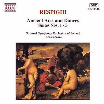 O. Respighi - Respighi: Aires y danzas, importación de USA Suites nos. 1-3 [CD]