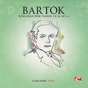 B. Bartok - danses populaires roumaines Sz. 56 no 1-6 [CD] USA import