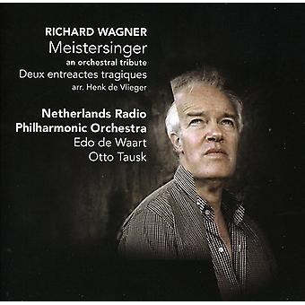 R. Wagner - Henk De Vlieger: Meistersinger - en orkestrale hyldest [CD] USA importerer
