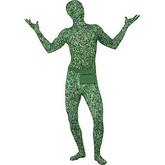 Second skin grass meadow lawn look Stretchanzug football costume