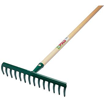 Maiol Rake 14 Teeth With Mango (Garten , Gartenarbeit , Tools , Harke)