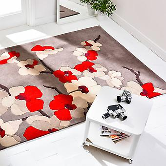 Rugs -Infinite Blossom - Red
