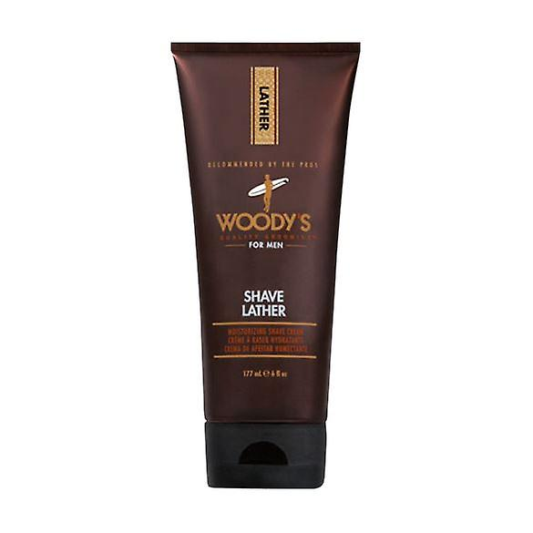 Woody's For Men Shave Lather Moisturizing Cream 177ml