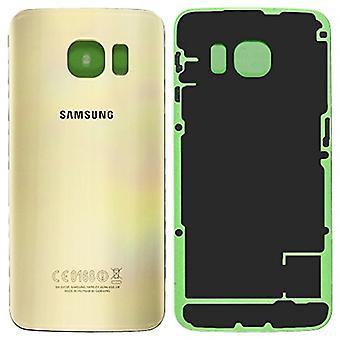 Samsung Galaxy S6 del borde más batería cubierta de oro