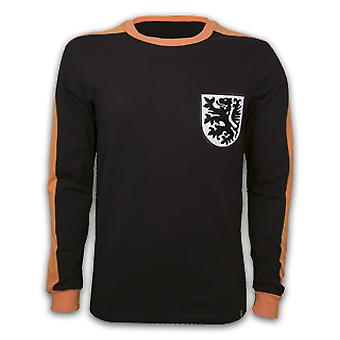 Holland Goalie 1970\'s Long Sleeve Retro Shirt 100% cotton