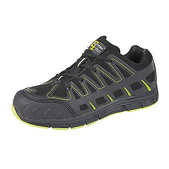 Grafters Mens Toe Cap Super Light Safety Trainers