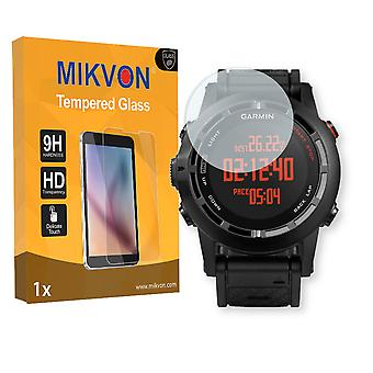 Garmin Fenix 2 Screen Protector - Mikvon flexible Tempered Glass 9H (Retail Package with accessories)