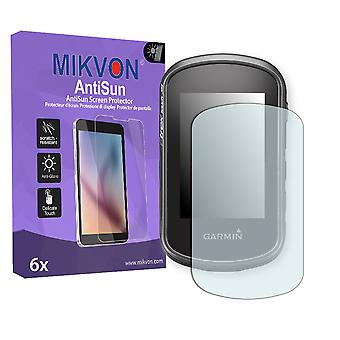 Garmin eTrex Touch 35 Screen Protector - Mikvon AntiSun (Retail Package with accessories)