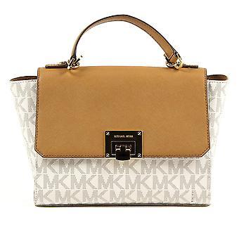 Michael Kors Womens Handbag Tina 35t7gt4s6b Vanilla Acrn