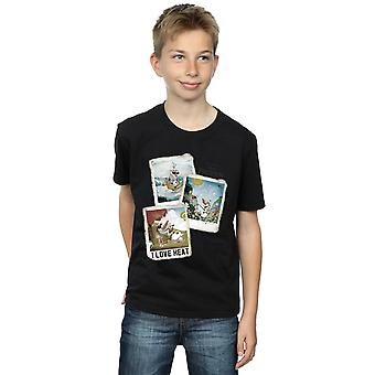 Disney Boys Frozen Olaf Polaroid T-Shirt