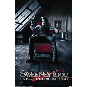 Sweeney Todd - The Demon Barber of Fleet Street Poster Print