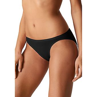 Mey 29815-3 Women's Organic Black Solid Colour Knickers Panty Brief