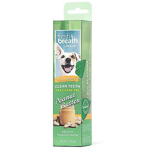 Tropiclean Fresh Breath Clean Teeth Gel For Dogs (Peanut Butter)