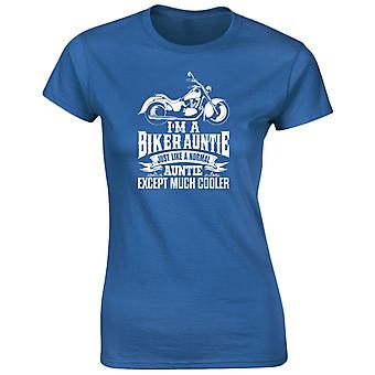 I'm A Biker Auntie Except Much Cooler Womens T-Shirt 8 Colours (8-20) by swagwear