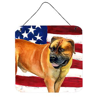 Boerboel Mastiff Patriotic Wall or Door Hanging Prints