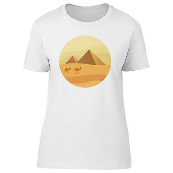 Two Pyramid Landscape Tee Women's -Image by Shutterstock