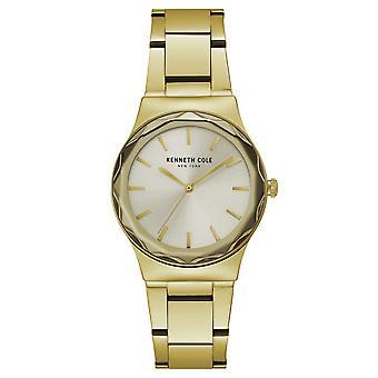 Da polso orologio analogico al quarzo in acciaio inox Kenneth Cole New York donna KC50059001