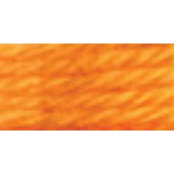 DMC Tapestry & Embroidery Wool 8.8yd-Light Citrus Orange