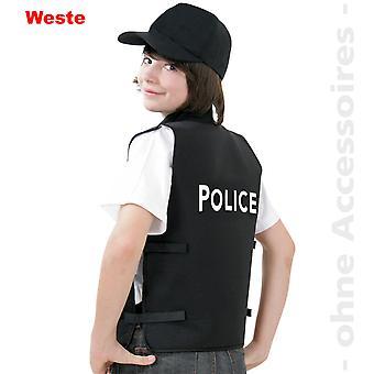 Polizei Kostüm Polizeiweste Police Kinder Weste Kinderkostüm