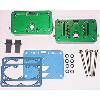 Quick Fuel Technology 34-106QFT Billet Metering Block Kit E85 Incl. Fully Adjustable E85 Metering Blocks/4 Adjustable Em
