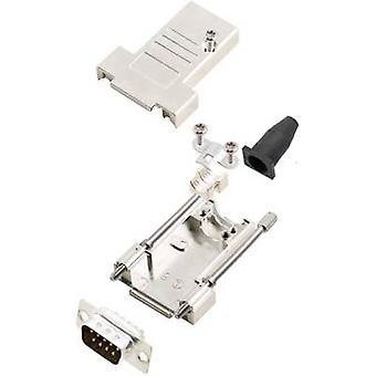 encitech DTSL09-T-JSRG+DMP-K D-SUB pin strip set 180 ° Number of pins: 9 Solder bucket 1 Set