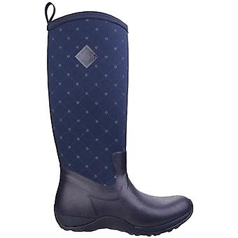 Muck Boots Arctic Adventure Navy Quilted Wellington Boots