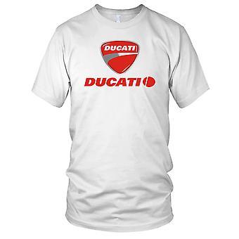 Ducati-italienische Sport-Bike-Motorrad-Herren-T-Shirt