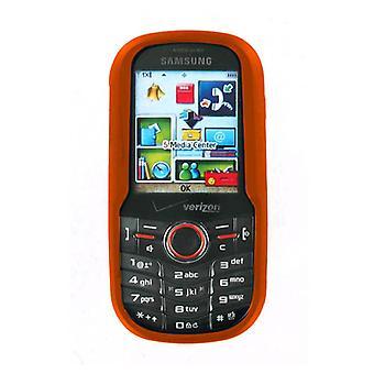 OEM Verizon Samsung intensité U450 Snap sur l'affaire - Orange (emballage en vrac)