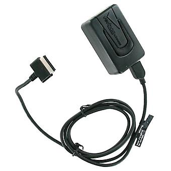 OEM Verizon Travel Charger with Detachable USB Cable for ZTE Turbine V66 (Black) - ZTETABTVL