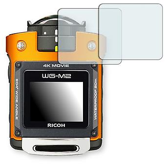Ricoh WG M2 display protector - Golebo crystal clear protection film