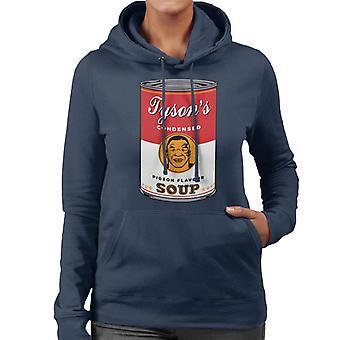 Mike Tyson Warhol Soup Mix Women's Hooded Sweatshirt